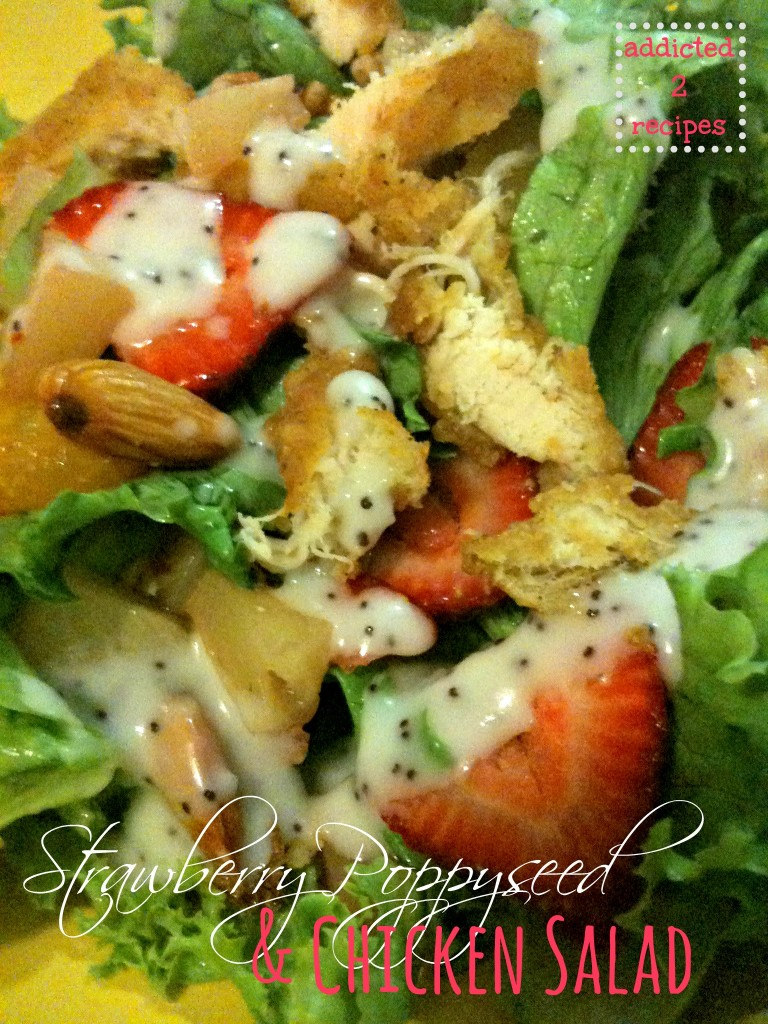 Strawberry Poppyseed & Chicken Salad