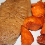 Vermont Maple Syrup Pork Chops and Sweet Potatoes