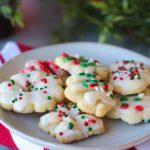 Iced Spritz Cookies