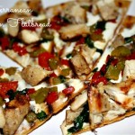 Mediterranean Chicken Flatbread a lá Outback Steakhouse