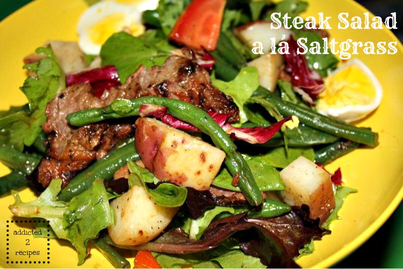 Steak Salad alá Saltgrass
