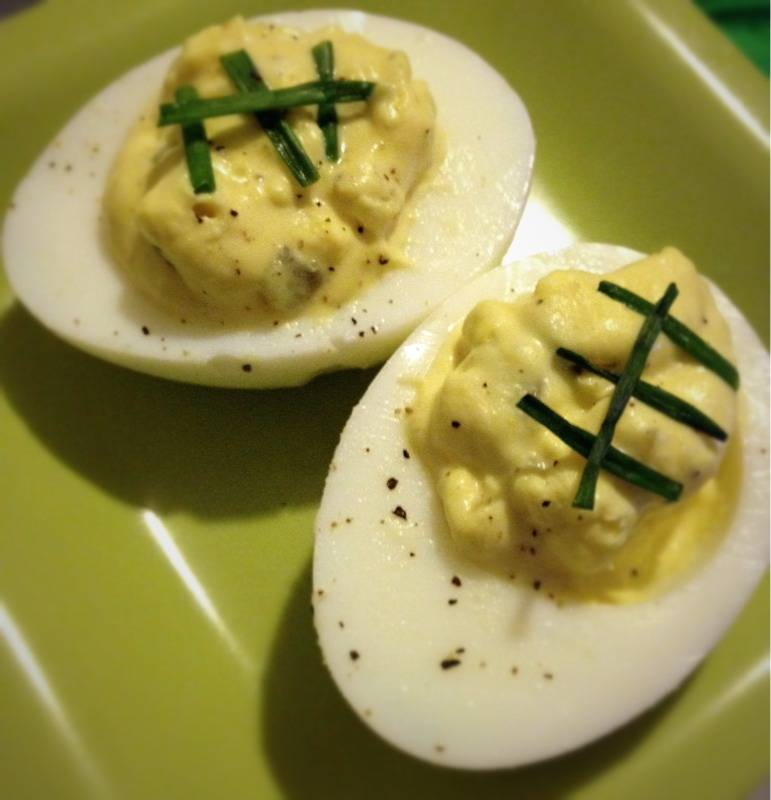 Drivers Deviled Eggs