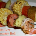 Grilled Low Country Boil Kabobs