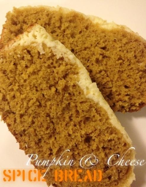 Pumpkin & Cheese Spice Bread