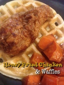 Honey Fried Chicken & Waffles