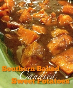 Southern Baked Candied Sweet Potatoes
