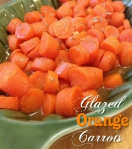 Glazed Orange Carrots