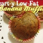Heart-y Low-Fat Banana Muffins