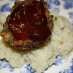 Stovetop Meatloaf Muffins