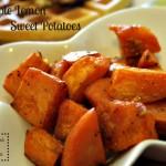 Maple Lemon Sweet Potatoes