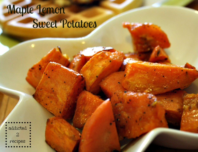 Maple Lemon Sweet Potatoes
