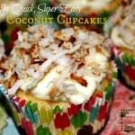 Super Quick, Super Easy Coconut Cupcakes