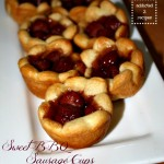 Sweet BBQ Sausage Cups