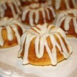 Lemony Mini Bundt Cakes