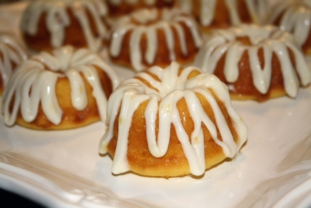 Lemony Mini Bundt Cakes Addicted To Recipes