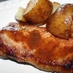 Potatoes and Pork Chops Yum Yum Casserole