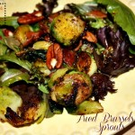 Fried Brussel Sprouts Salad