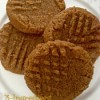 3-Ingredient Peanut Butter Cookies #recipe