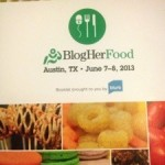 My #BlogherFood recap