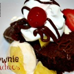 Brownie Sundaes