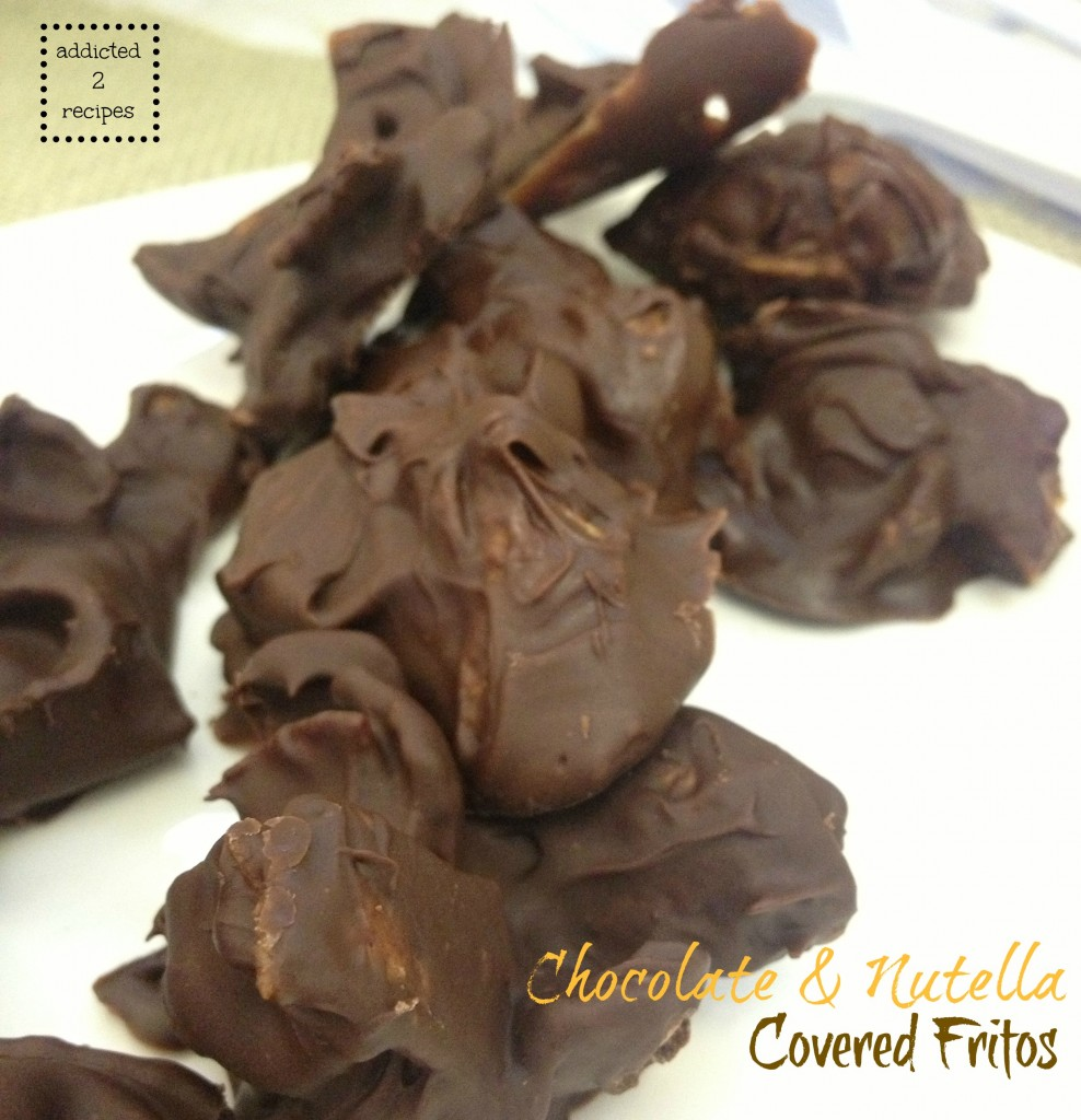 Chocolate & Nutella Covered Fritos