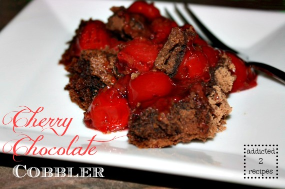 Cherry Chocolate Cobbler