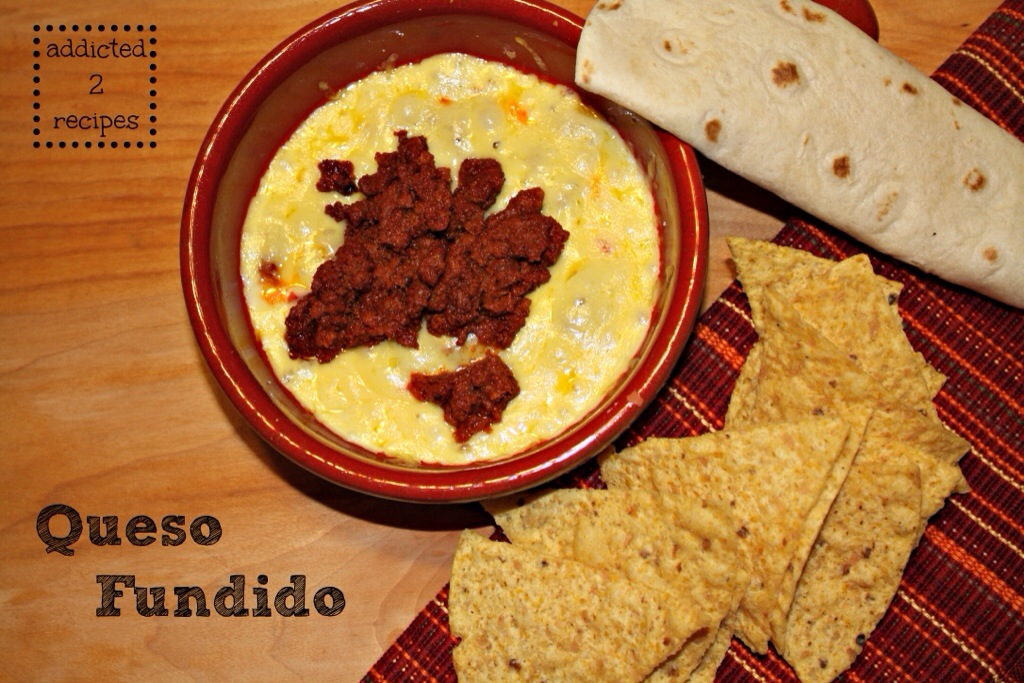 Queso Fundido #CheeseSociety - addicted to recipes