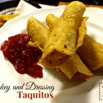 Turkey and Dressing Taquitos
