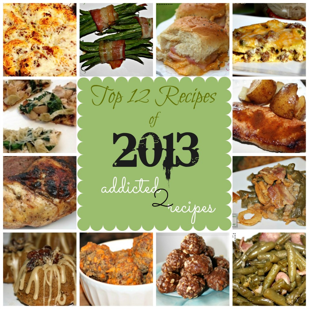 2013 top recipes collage