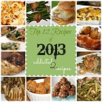 Top 12 Recipes of 2013