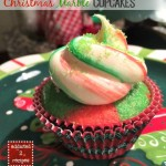 Christmas Marble Cupcakes