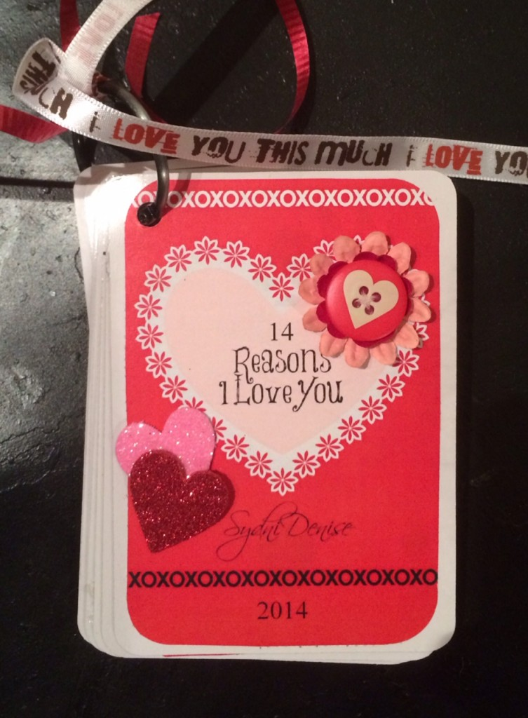 14 reasons I love you Scrapbook