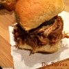 Dr. Pepper Pulled Pork Sliders