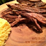 Maple Glazed Slow Cooker Brisket