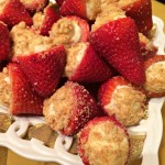 Cheesecake Stuffed Strawberries and a 50th Wedding Anniversary Party #OviedoFifty