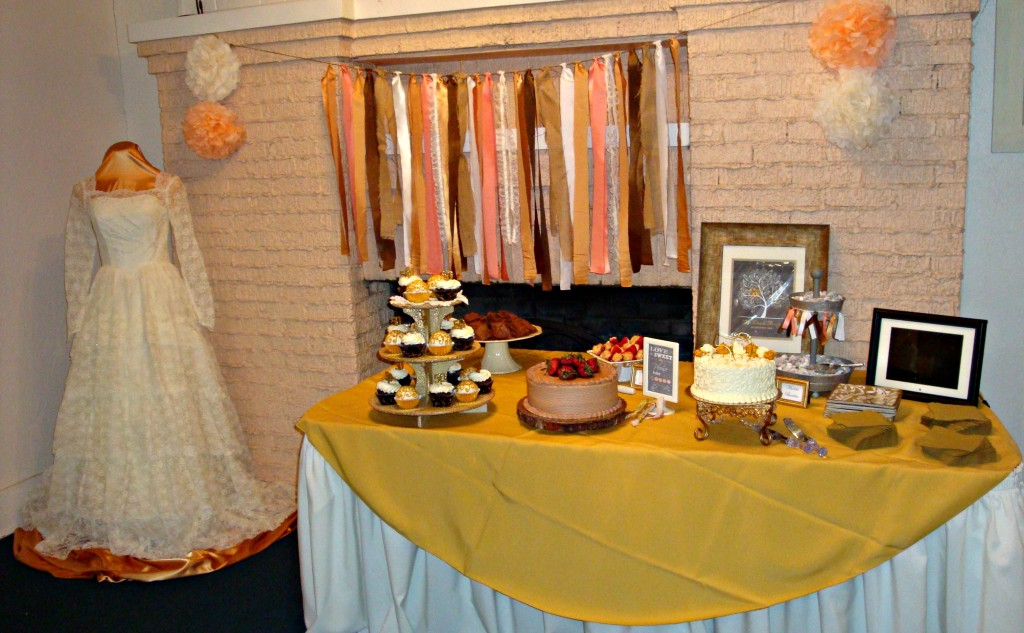 50th Wedding Anniversary Dessert Table
