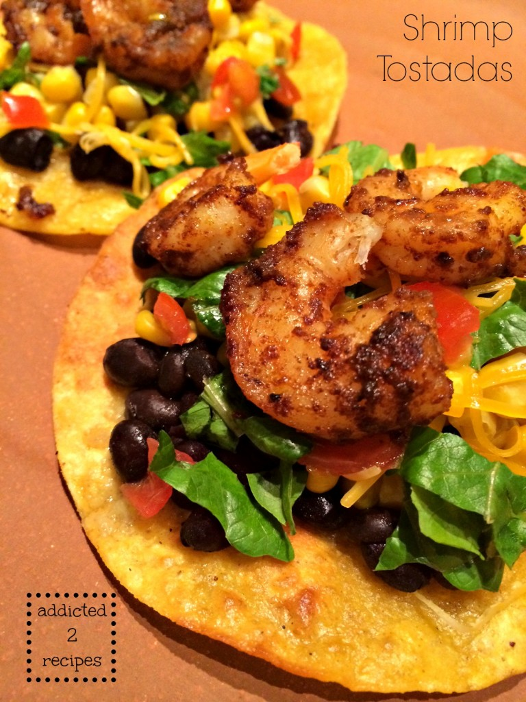 Shrimp Tostadas @addicted2recipe