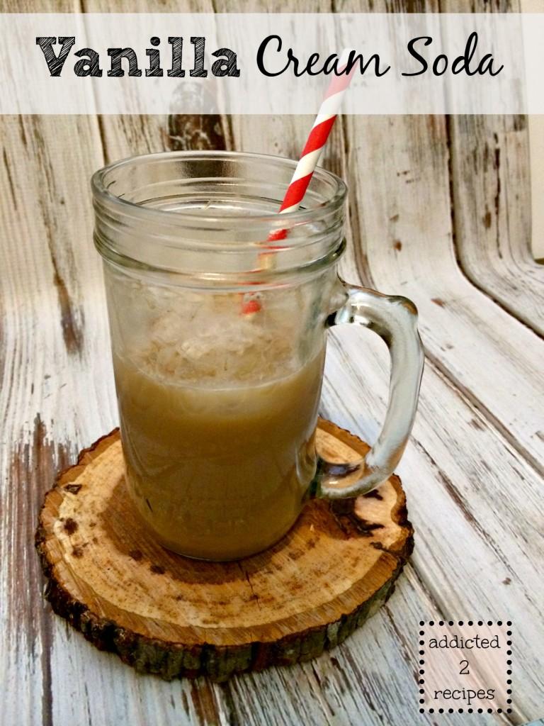 Vanilla Cream Soda @addicted2recipe