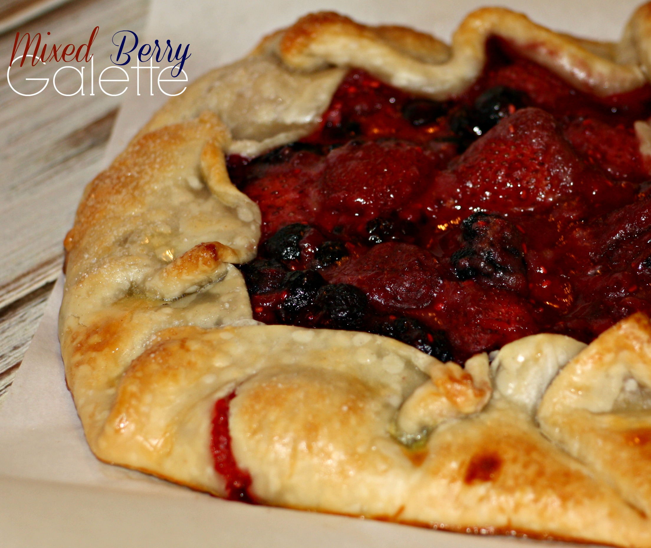Mixed Berry Galette - addicted to recipes