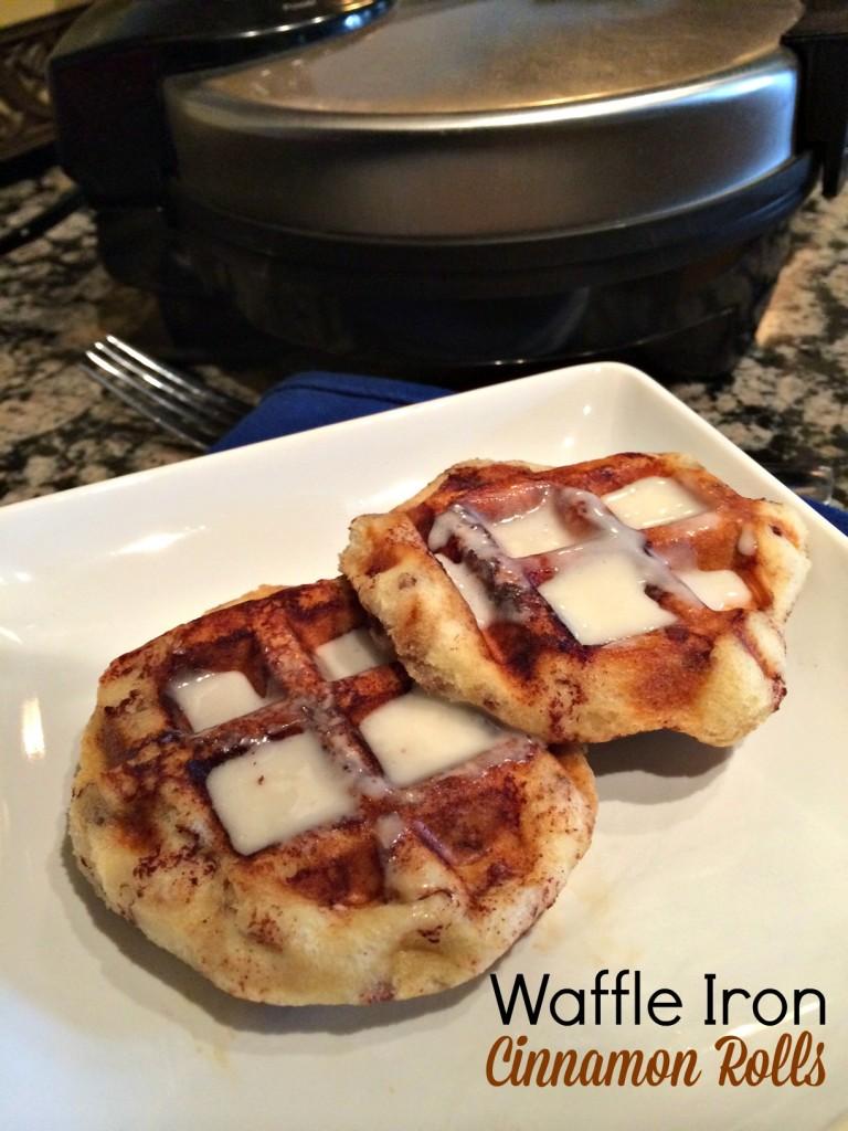 Waffle Iron Cinnamon Waffles