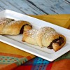 Nutella and Andes Mints Crescents