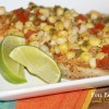 Foil Packet Tilapia and Corn Relish