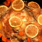 Slow Cooker Lemon Chicken #ReadingFoodie: All Fall Down
