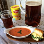 Perfect Pairs: Tomato Basil Parmesan Soup #TeaRifficPairs #Shop