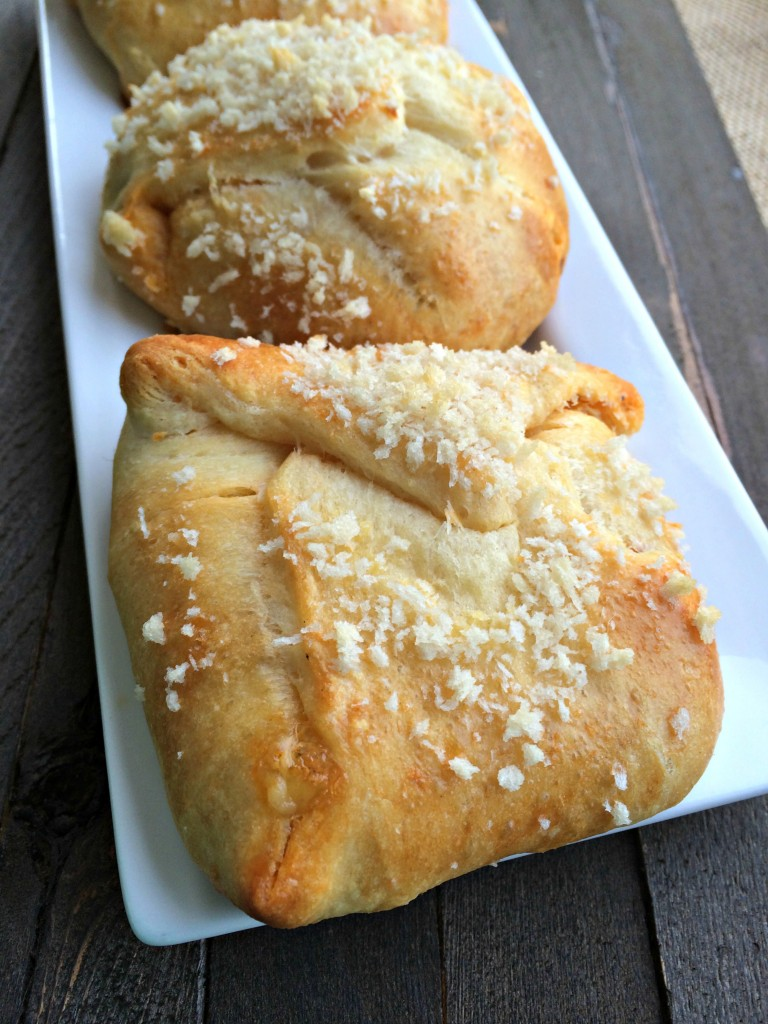 Beef and Been Enchilada Pillow Crescents