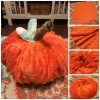 DIY Fabric Pumpking How To Collage
