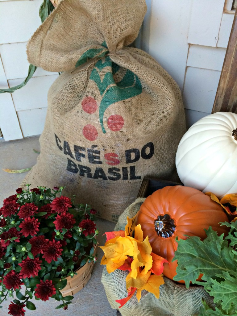 Fall Decor Coffee Beans Bag