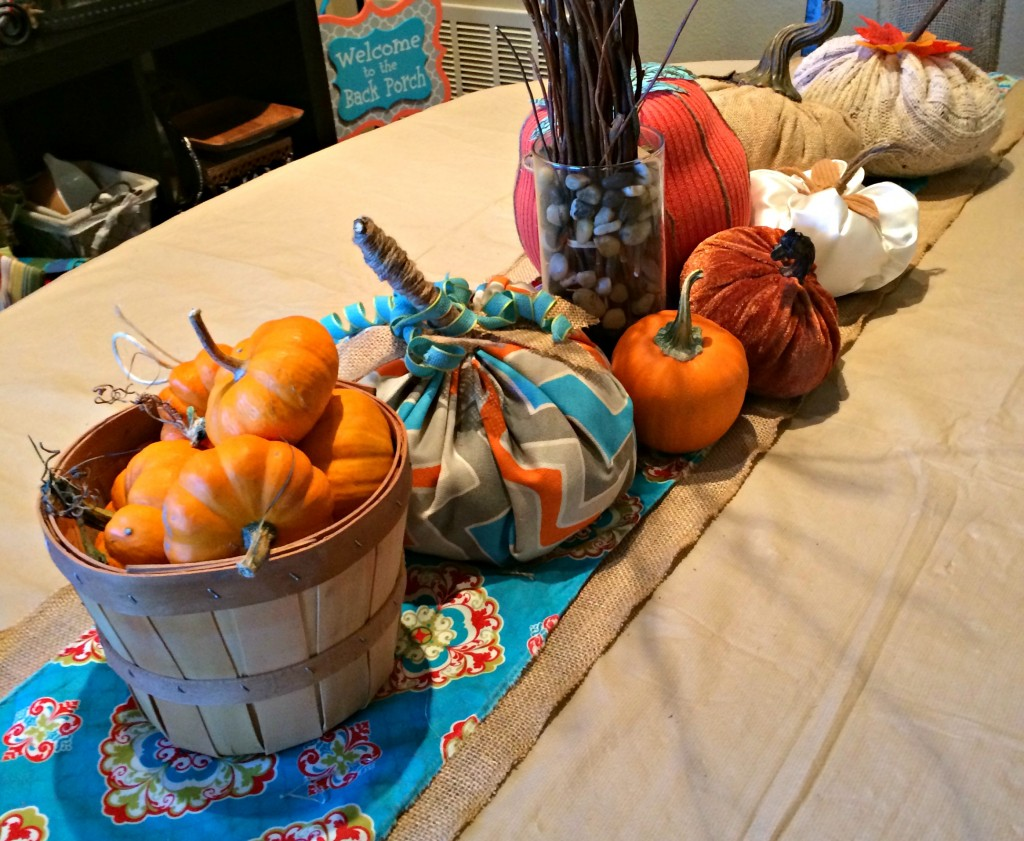 Fall Decor Dining Table