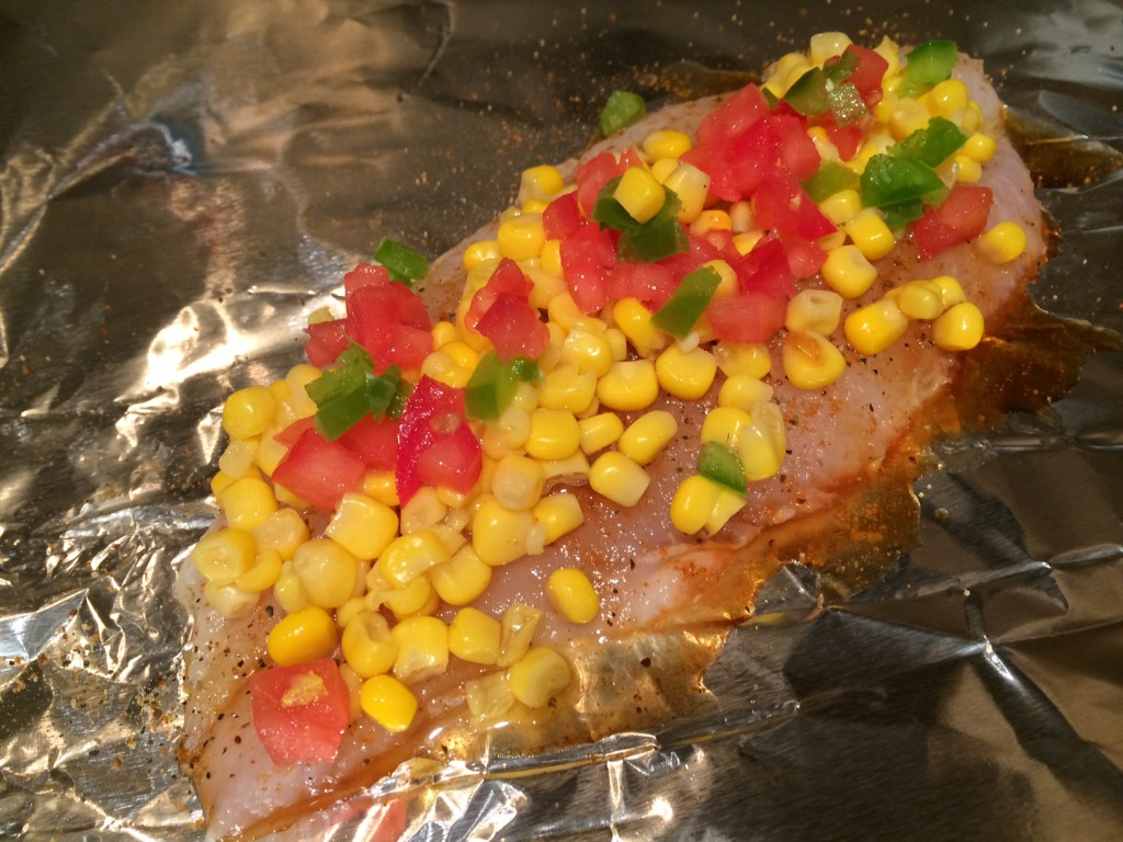 Fish Tacos Foil Packet