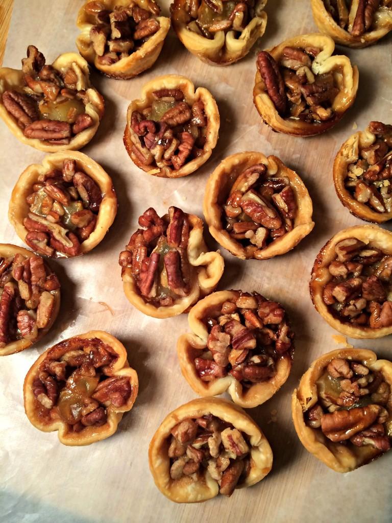 Pecan & Brie Bites